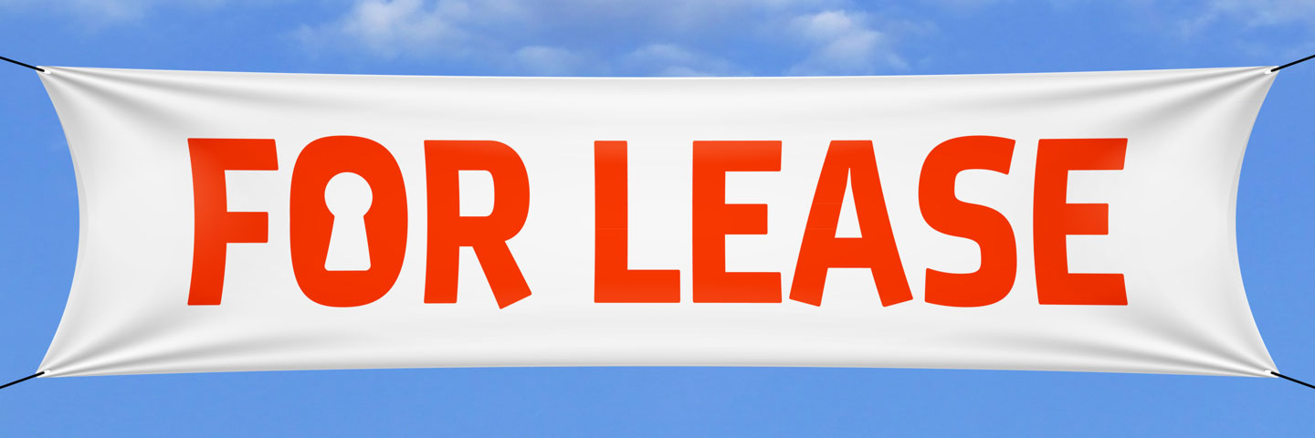 For Lease Banner