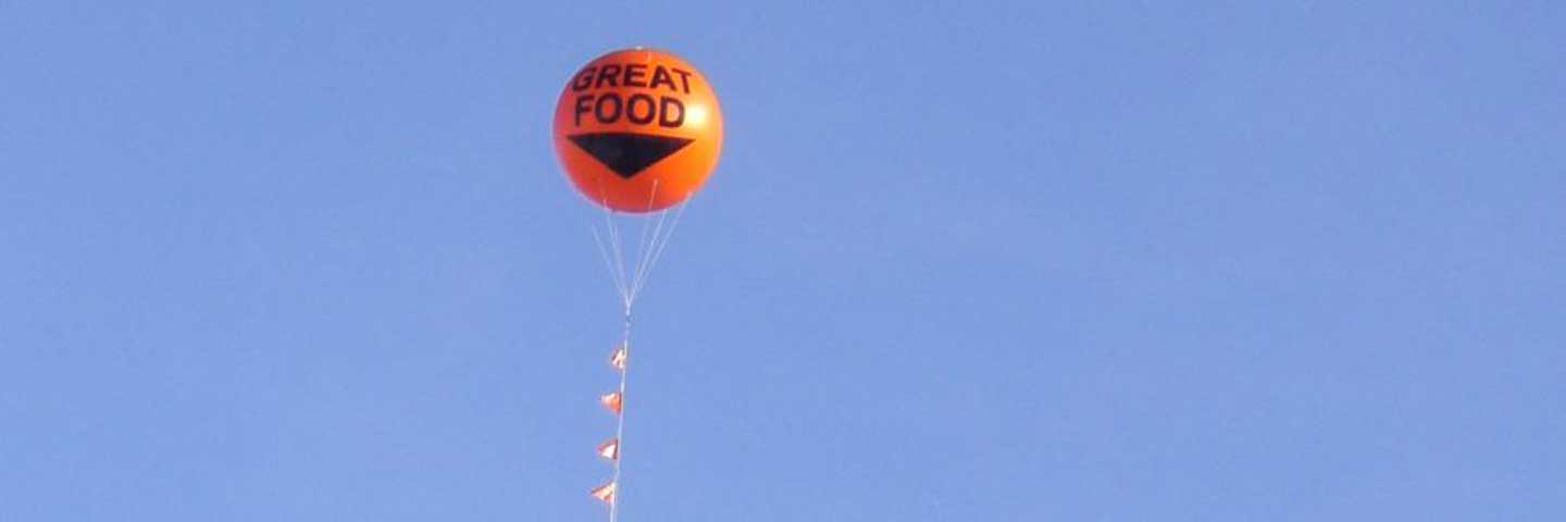 Advertising Blimp Photograph