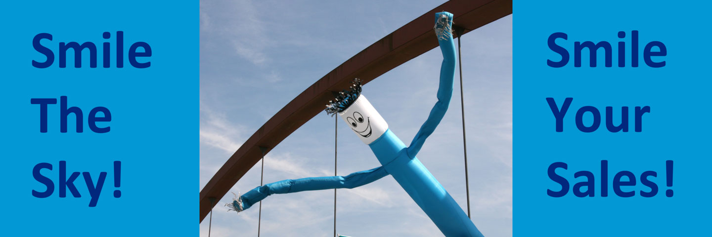 Blue Inflatable Sky Dancer