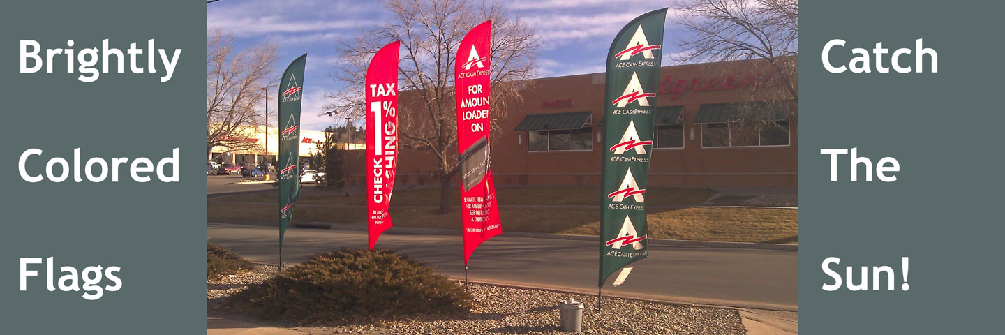 Flags for Ace Cash Express