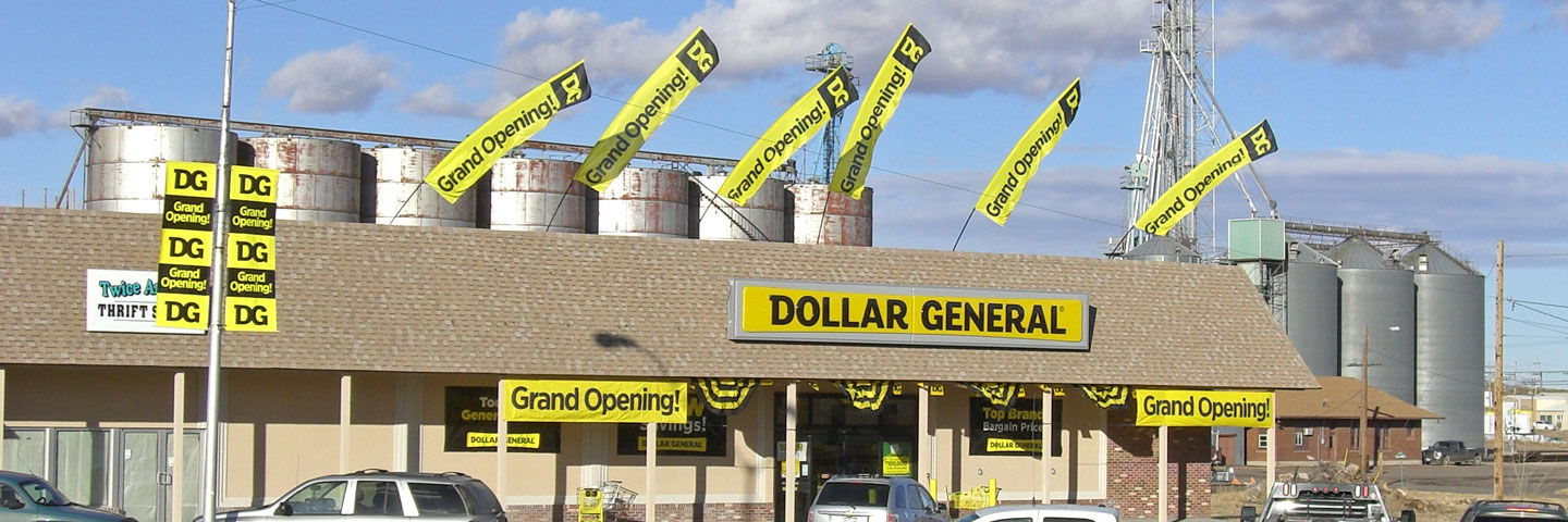 Flag Array Dollar General